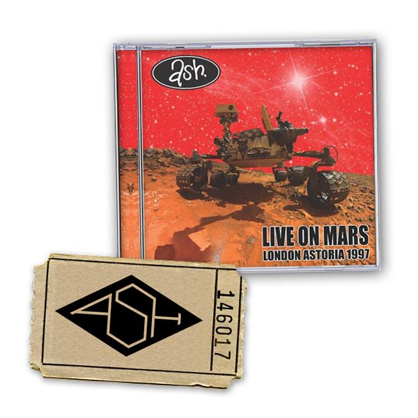 Buy Online Ash - Summer 2017 Tour Ticket + Live On Mars CD
