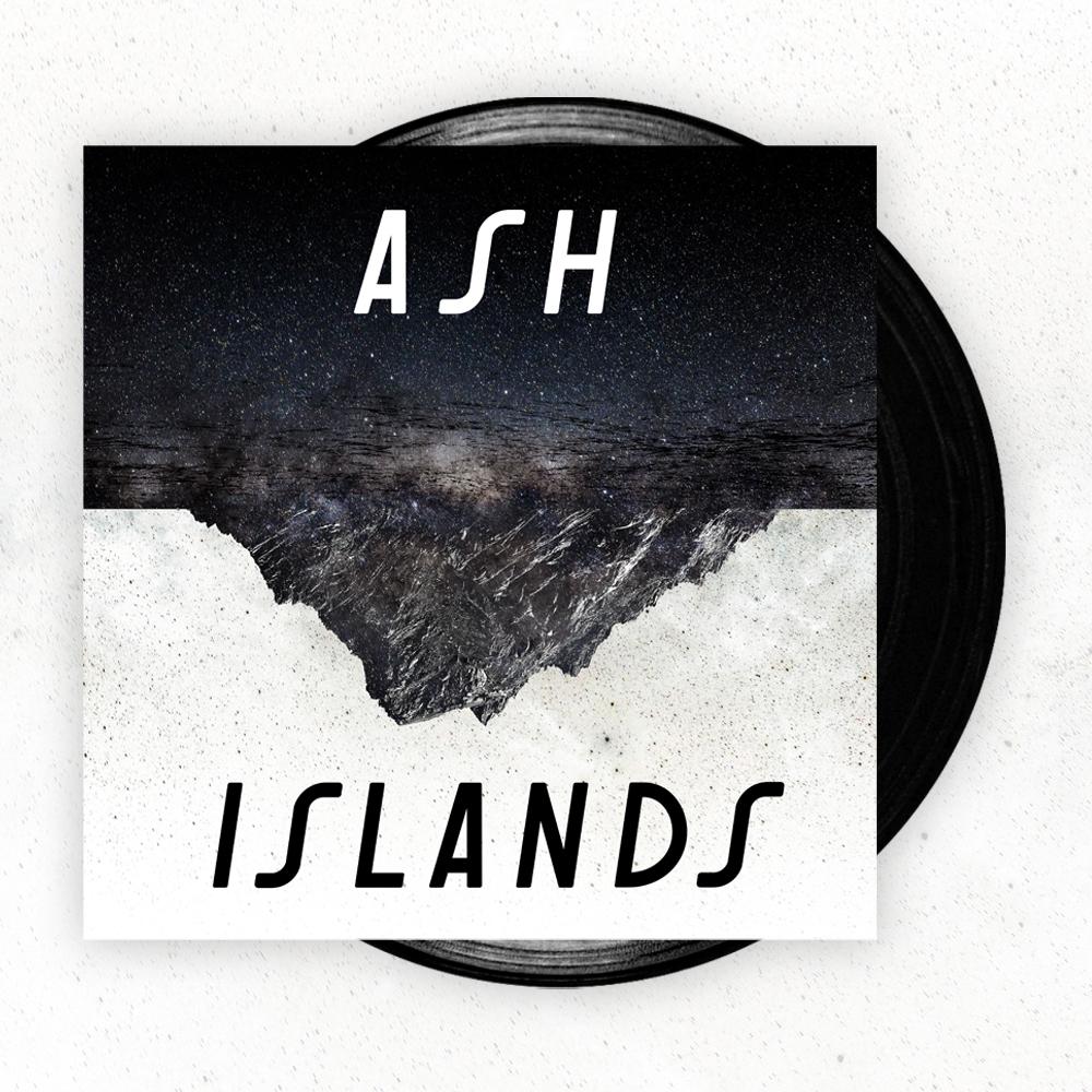 Buy Online Ash - Islands Black Vinyl LP (Signed)