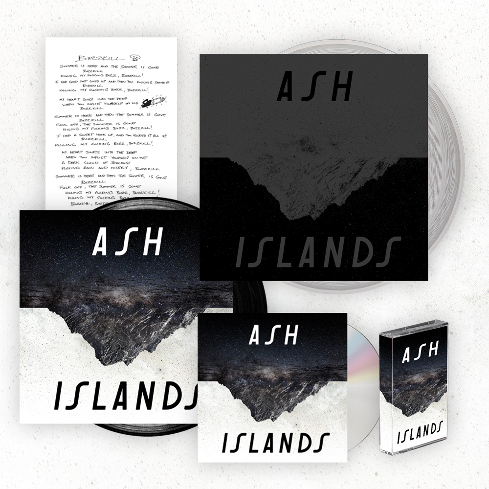Buy Online Ash - Islands Super Deluxe Album Bundle (Signed)