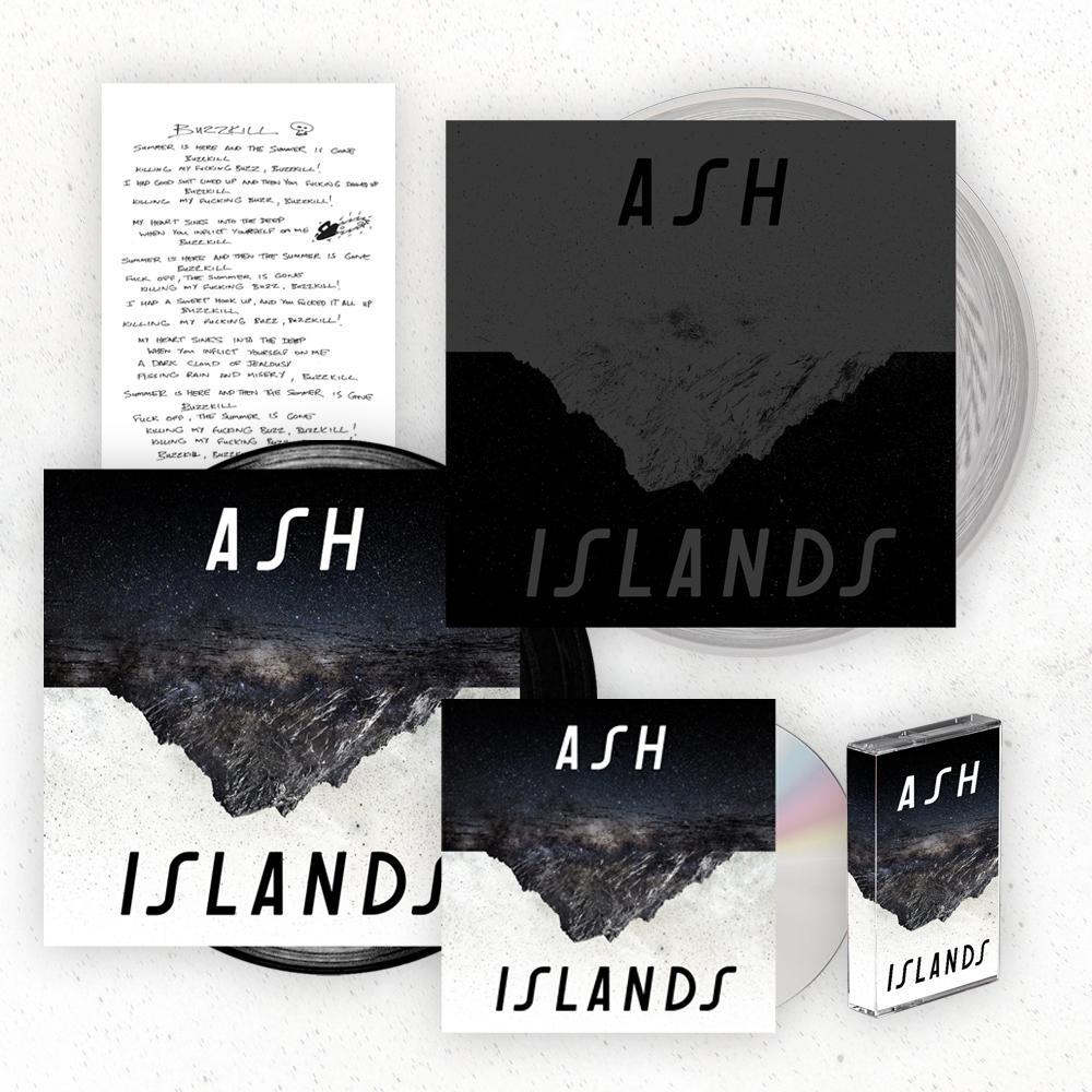 Buy Online Ash - Islands Super Deluxe Album Bundle (Signed)