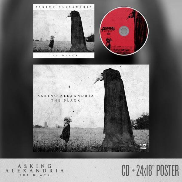 Buy Online Asking Alexandria - The Black CD + Poster Bundle