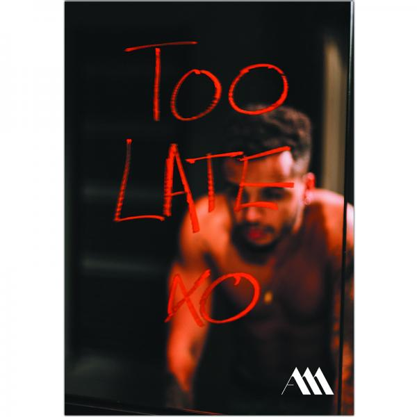 Too Late A3 Poster