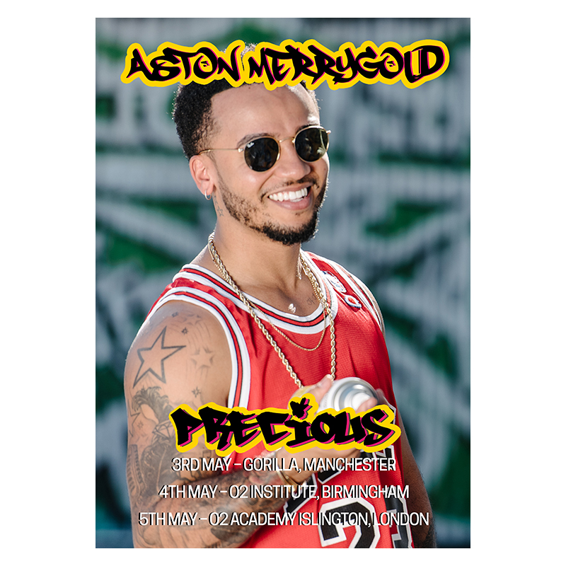 Buy Online Aston Merrygold - Exclusive Precious Tour Poster