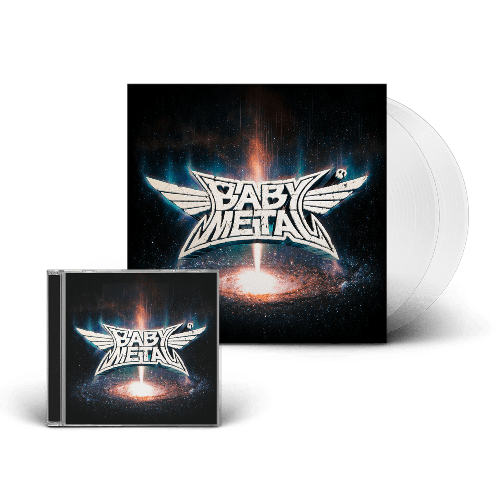 Buy Online BABYMETAL - Metal Galaxy CD + Transparent Double Vinyl