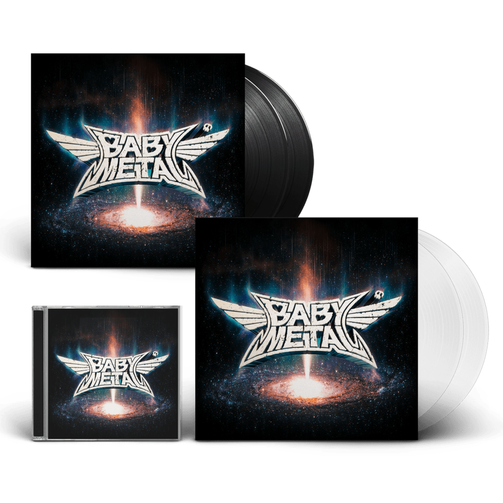Buy Online BABYMETAL - Metal Galaxy CD + Black Double Vinyl + Transparent Double Vinyl