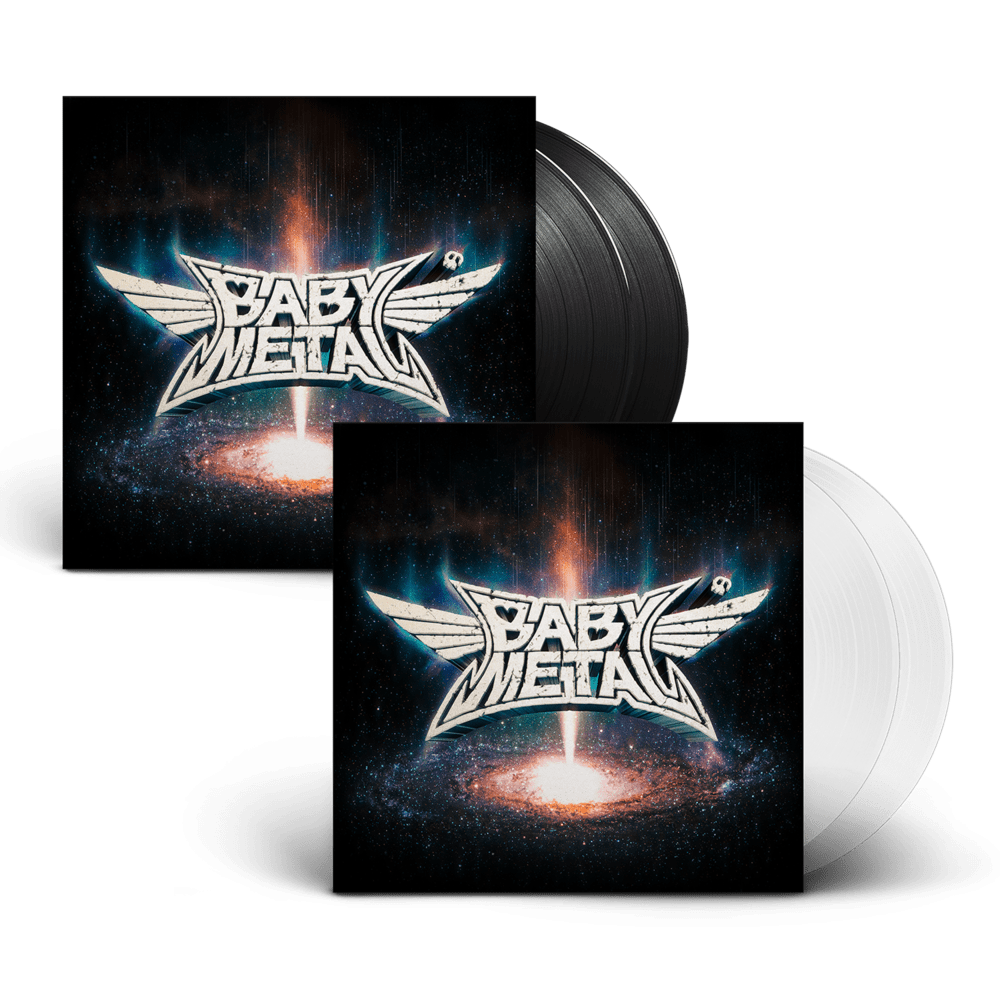 Buy Online Babymetal - Metal Galaxy Black Double Vinyl + Transparent Double Vinyl