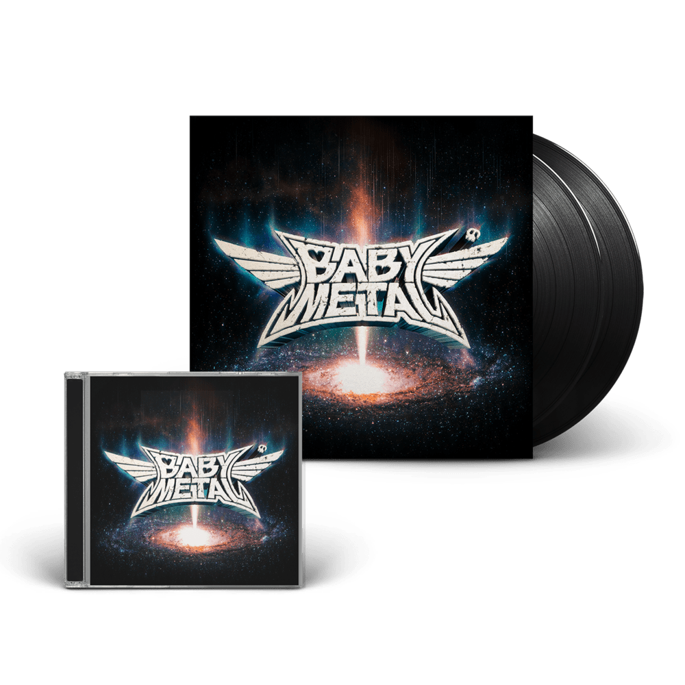 Buy Online Babymetal - Metal Galaxy CD + Black Double Vinyl