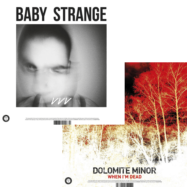 Buy Online Baby Strange / Dolomite Minor - VVV / When I'm Dead (7 inch on white vinyl)