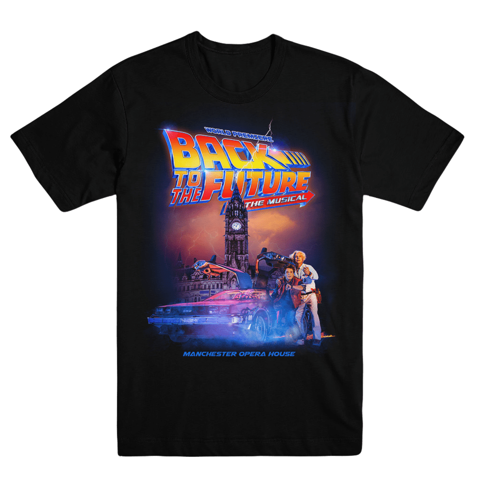 Buy Online Back To The Future The Musical - Unisex Logo T-Shirt