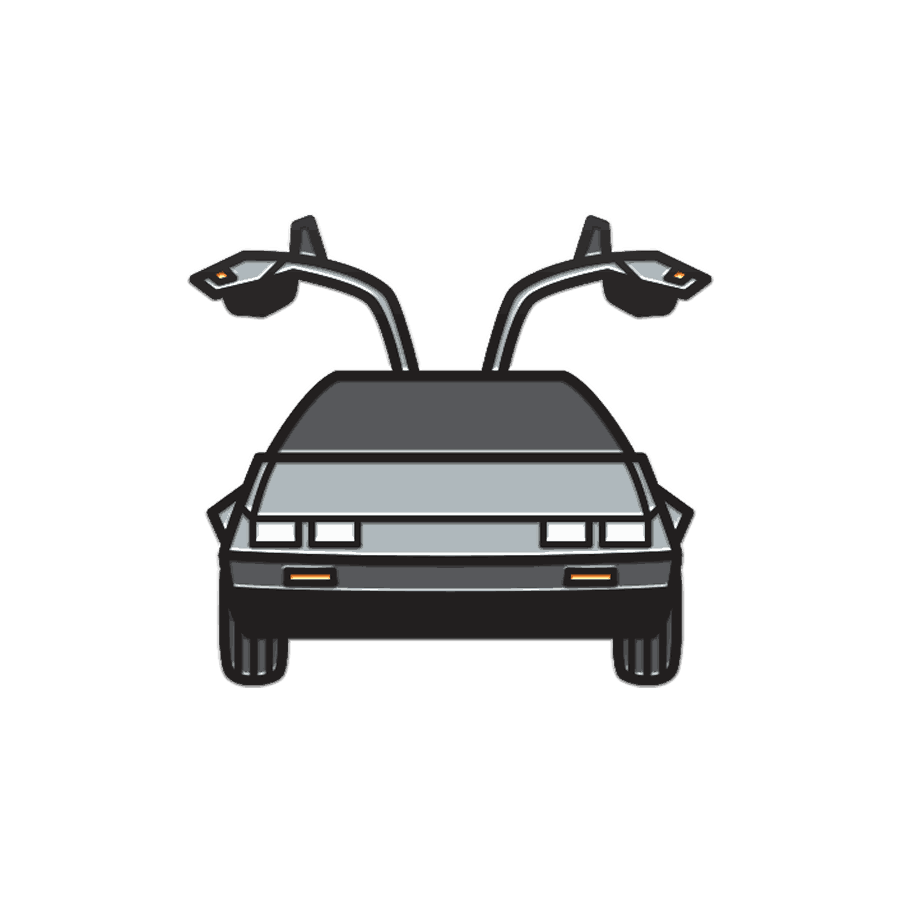 Buy Online Back To The Future The Musical - DeLorean Enamel Pin