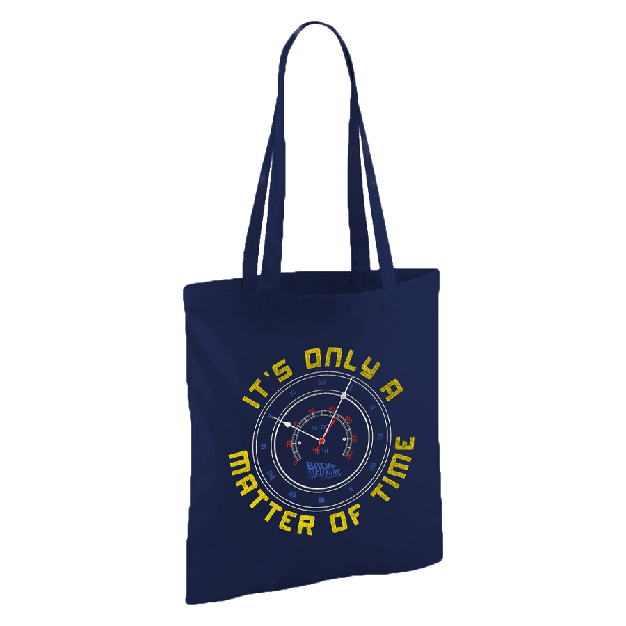 Buy Online Back To The Future The Musical - Only A Matter of Time Tote Bag
