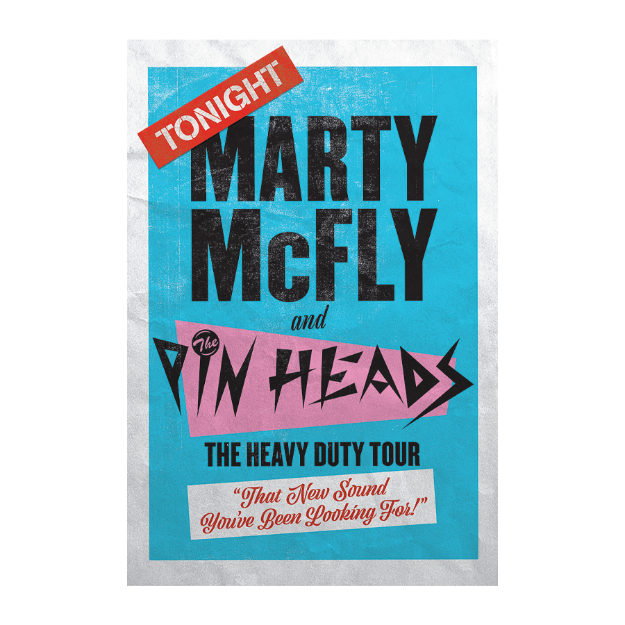 Buy Online Back To The Future The Musical - Marty and the Pinheads Poster