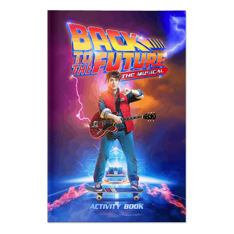 Buy Online Back To The Future The Musical - Activity Book