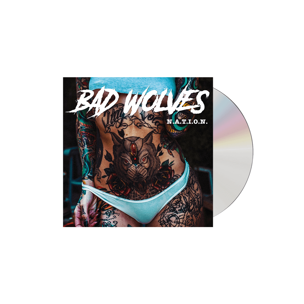 Buy Online Bad Wolves - N.A.T.I.O.N (Signed)