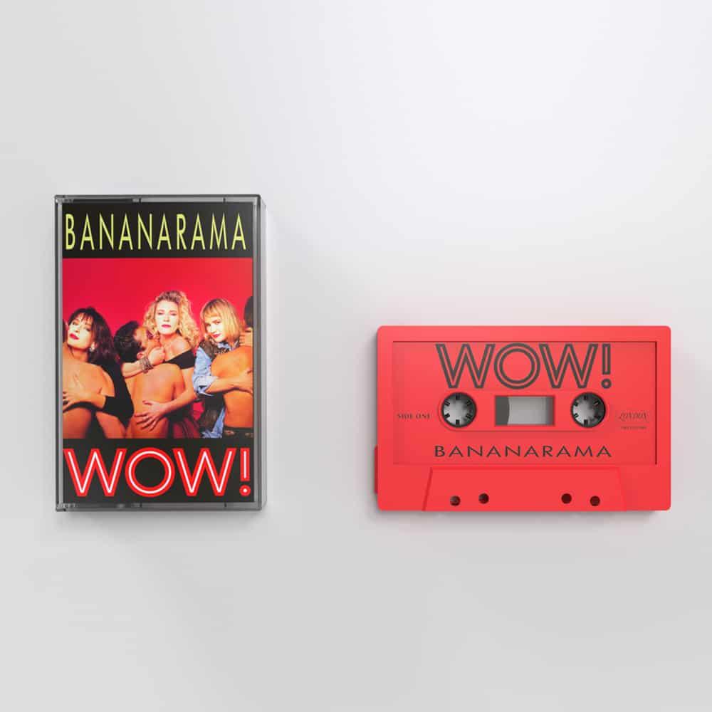 Buy Online Bananarama - WOW! Red Cassette (Ltd Edition)