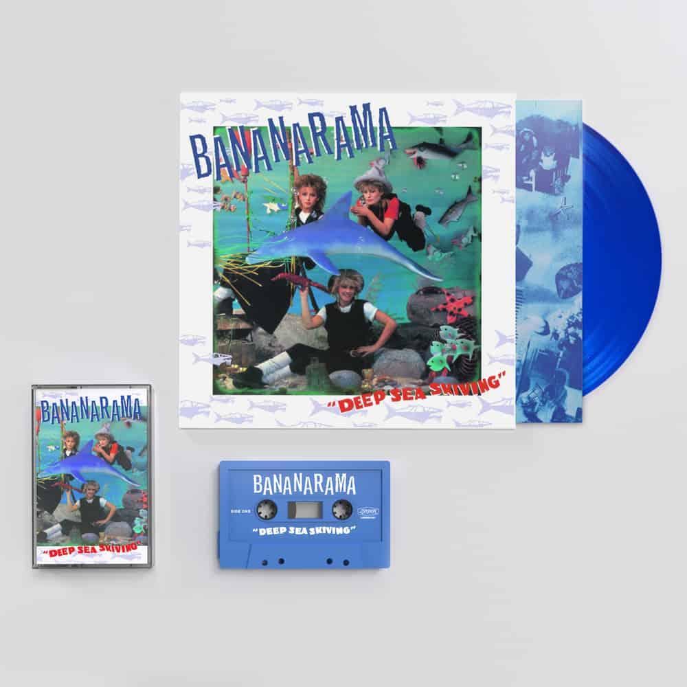 Buy Online Bananarama - Deep Sea Skiving Blue Vinyl + Cassette