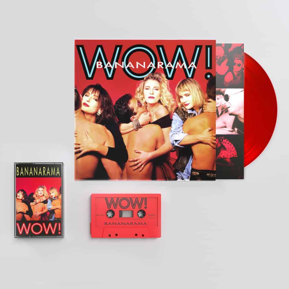 Buy Online Bananarama - WOW! Red Vinyl + Cassette