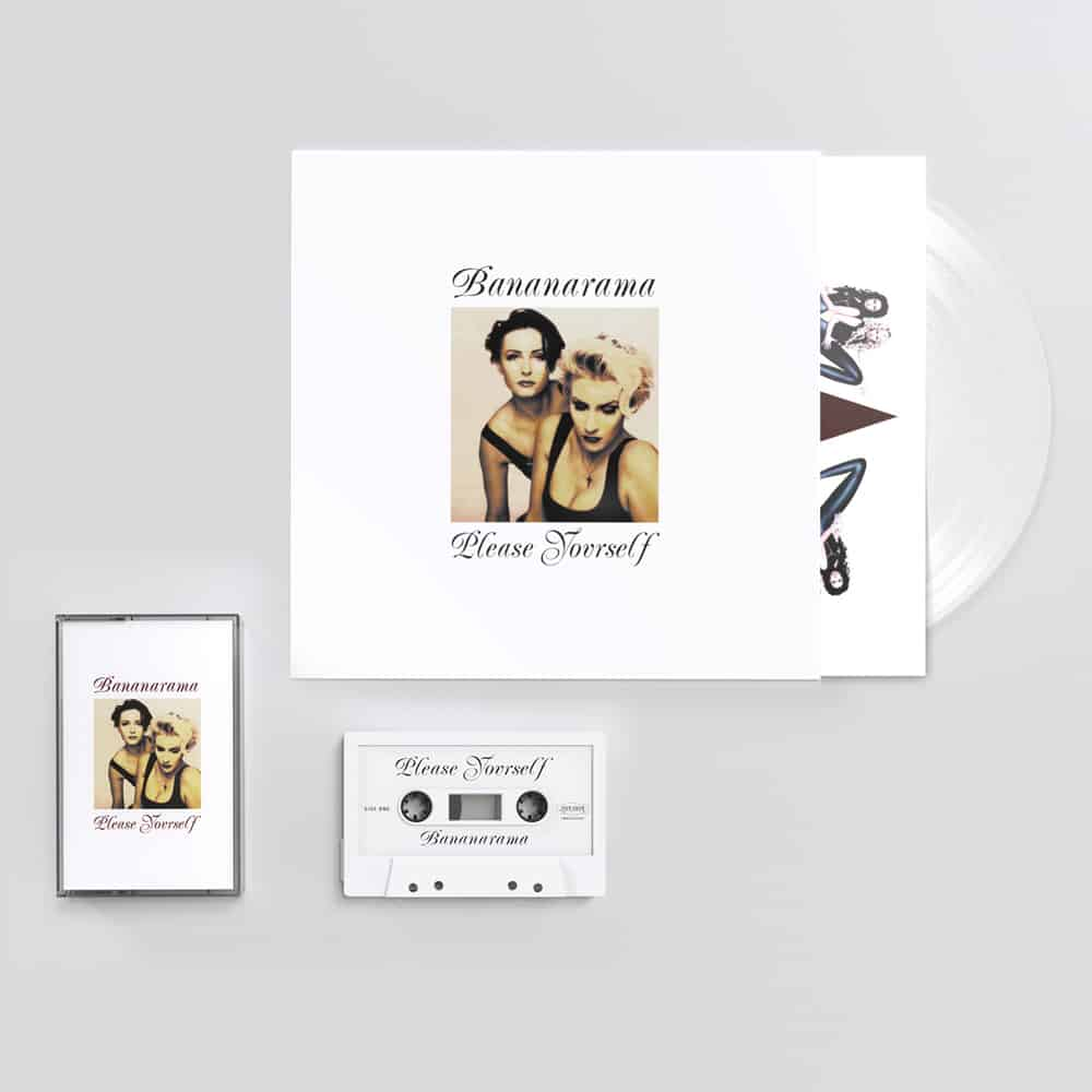 Buy Online Bananarama - Please Yourself White Vinyl + Cassette