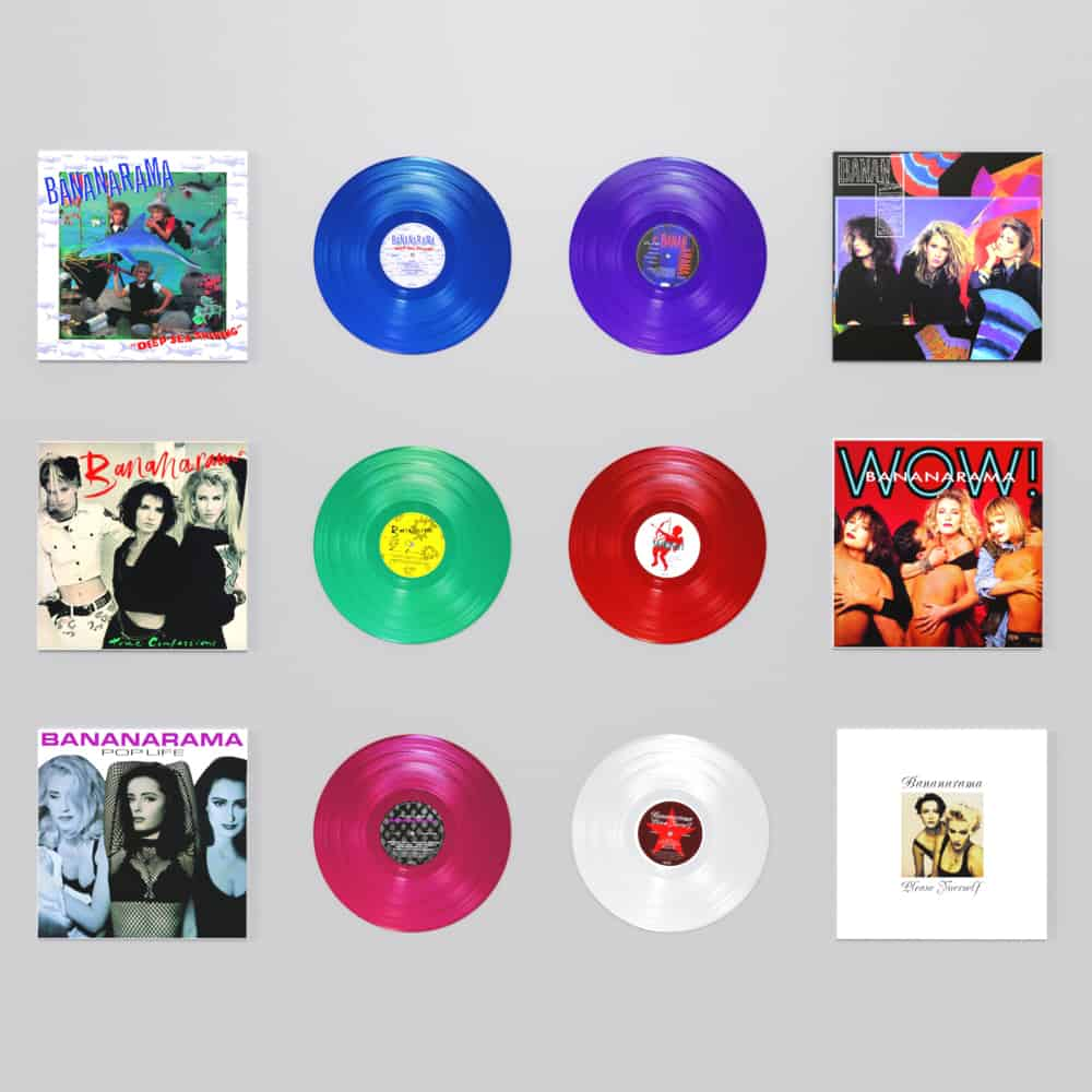 Buy Online Bananarama - Complete Vinyl Bundle