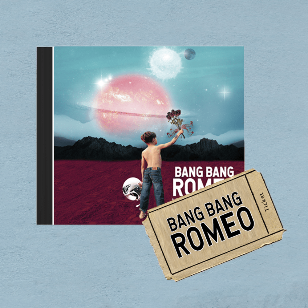 Buy Online Bang Bang Romeo - A Heartbreaker's Guide To The Galaxy CD & February Tour Ticket