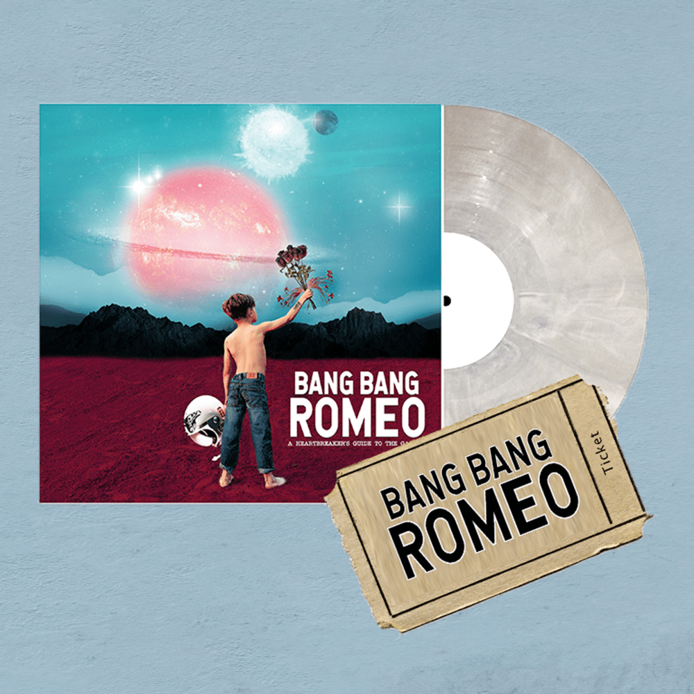 Buy Online Bang Bang Romeo - A Heartbreaker's Guide To The Galaxy Vinyl & February Tour Ticket