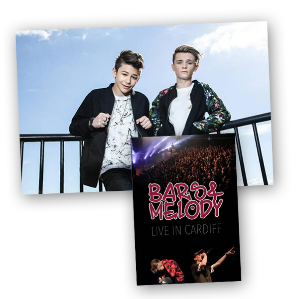 Buy Online Bars & Melody - Live in Cardiff DVD & Poster