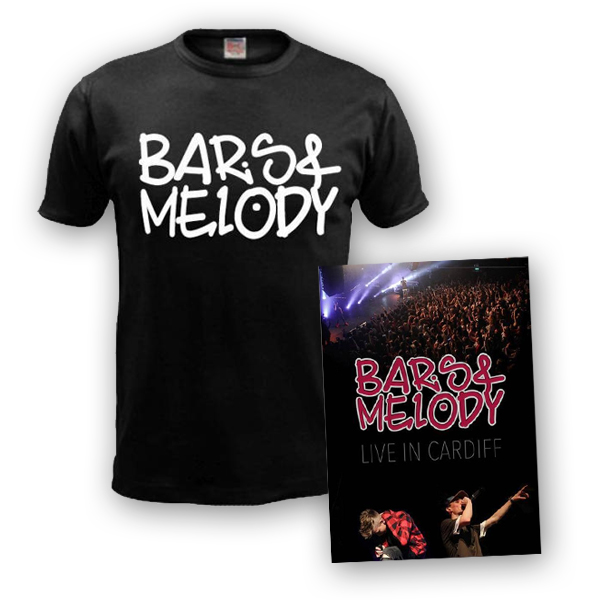 Buy Online Bars & Melody - Live in Cardiff DVD & T-Shirt