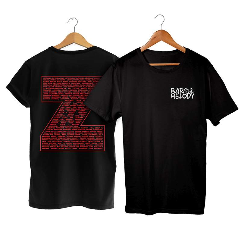 Buy Online Bars & Melody - Generation Z T-Shirt (Get Your Name On The Back)