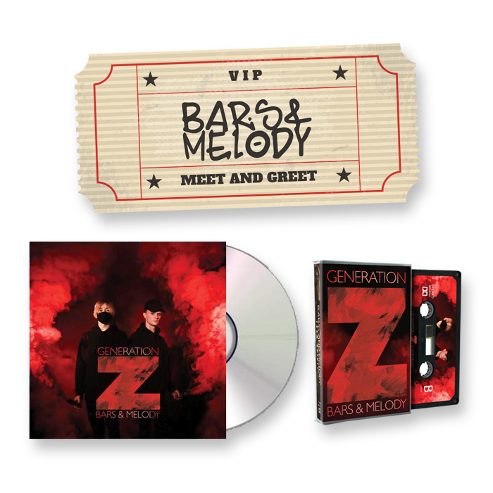 Buy Online Bars & Melody - June 2017 Meet & Greet + Generation Z CD + Cassette