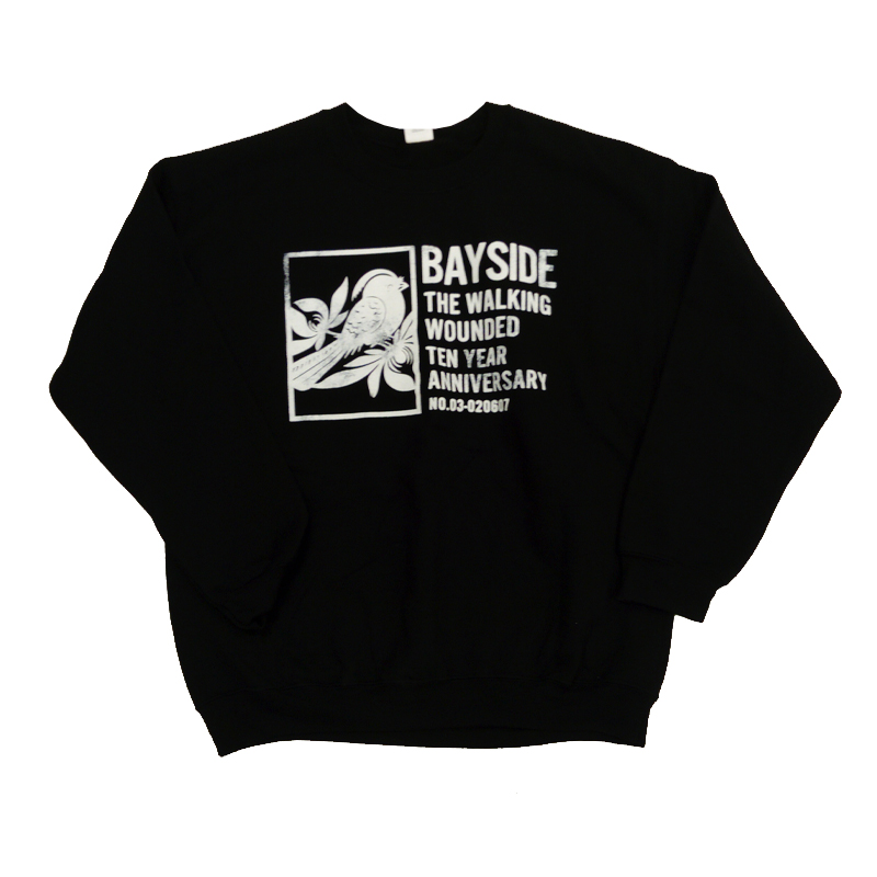 Buy Online Bayside - Walking Wounded Tour Sweatshirt