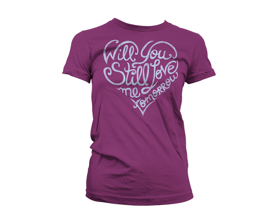 Buy Online Beautiful In London - Love Me Tomorrow Women's Tee