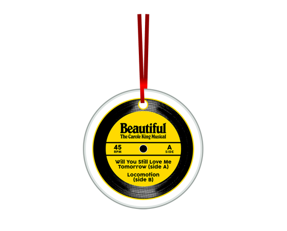 Buy Online Beautiful In London - Record Disc Ornament