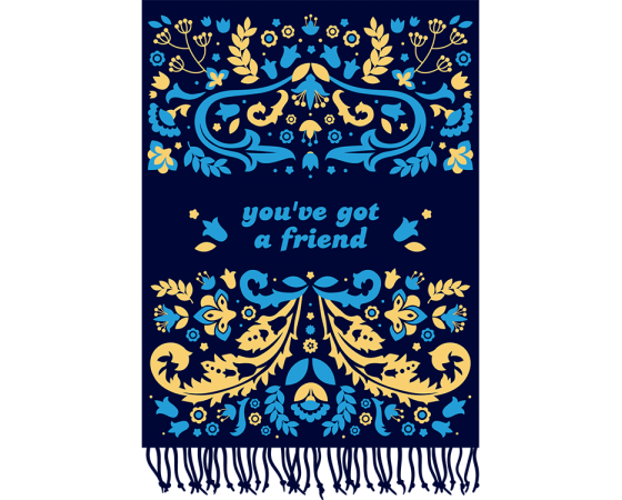 Buy Online Beautiful In London - You've Got A Friend Scarf