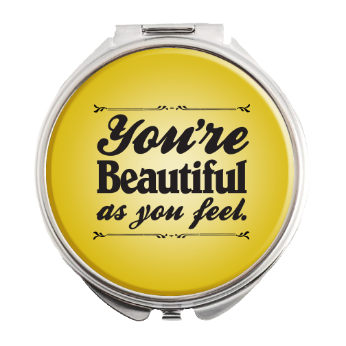 Buy Online Beautiful In London - Logo Compact Mirror