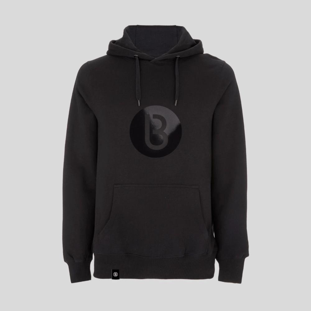 Buy Online Bedrock Music - Bedrock Classic B Logo (Black) Black Hoody