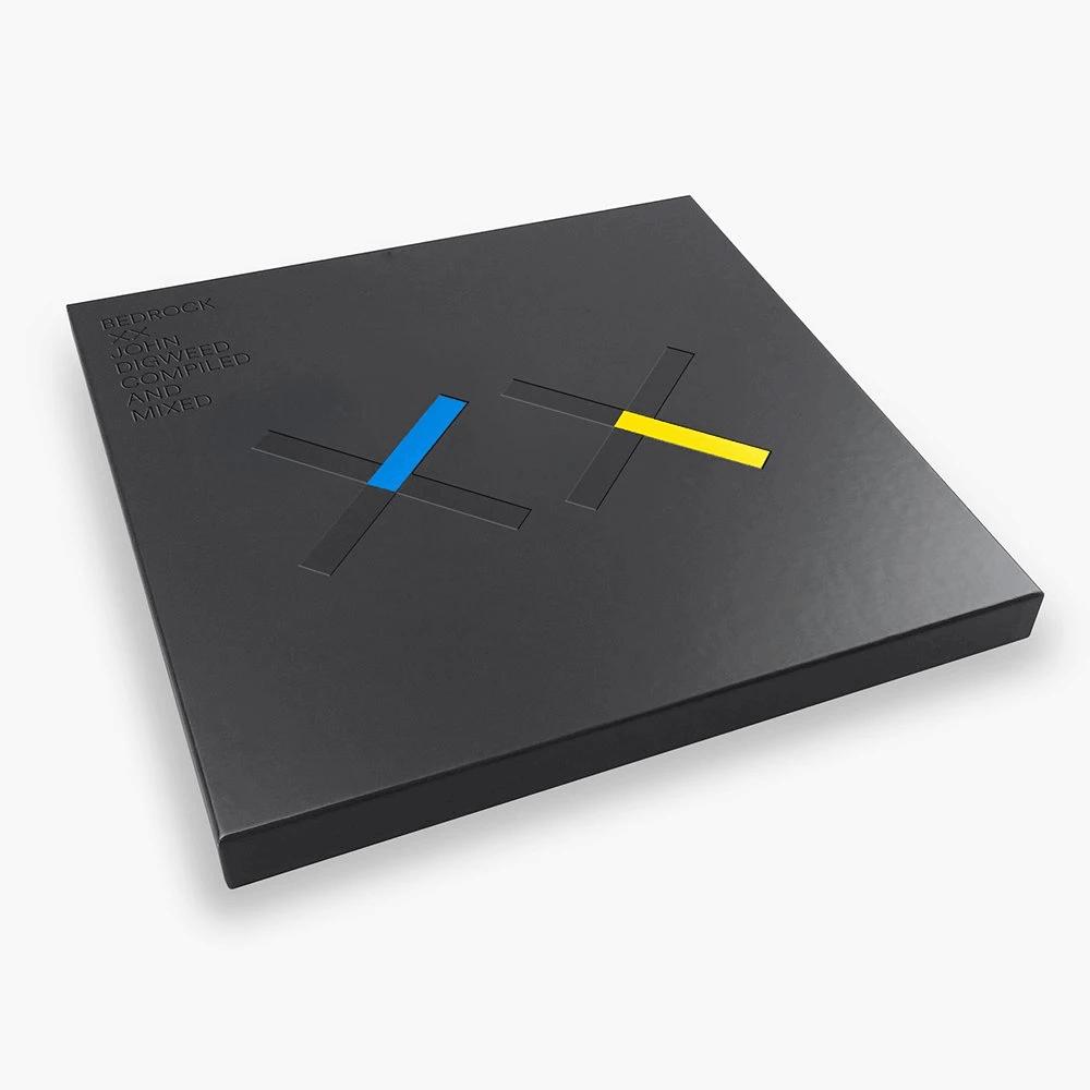 Buy Online John Digweed - Bedrock XX Deluxe Vinyl & CD Box Set with Print