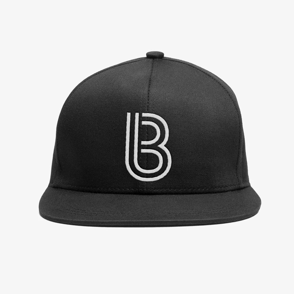 Buy Online Bedrock Music - Bedrock Inline Snapback Hat in Black