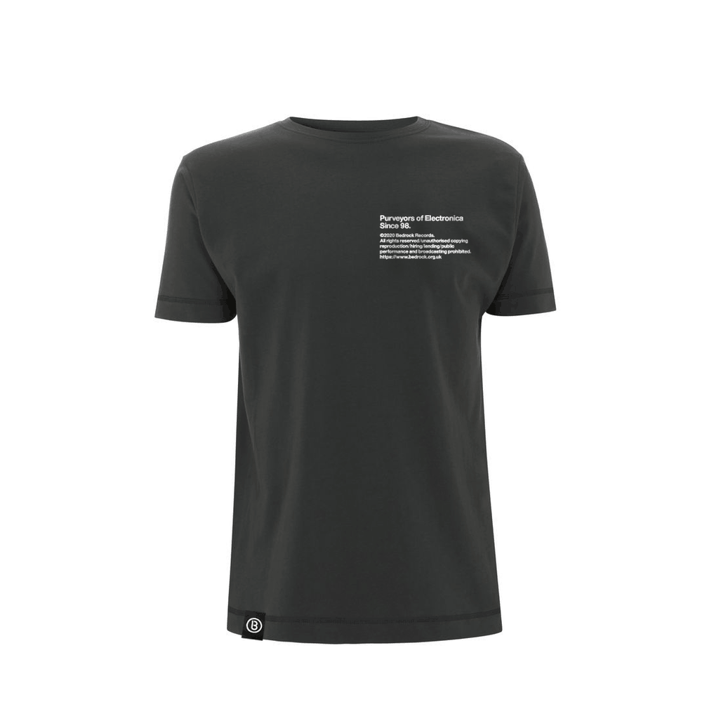 Buy Online Bedrock Music - BED_ELECTRONICA Dark Grey T-Shirt