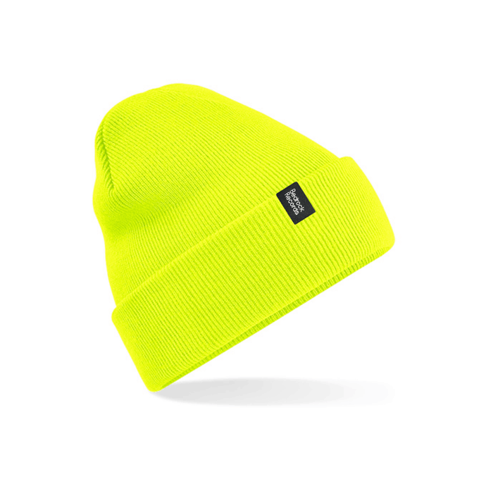 Buy Online Bedrock Music - Bedrock Original Cuffed Beanie - Yellow