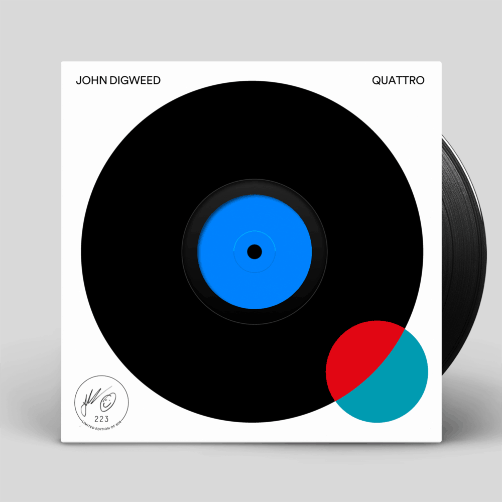 Buy Online John Digweed - Quattro 5LP (Signed, Numbered)