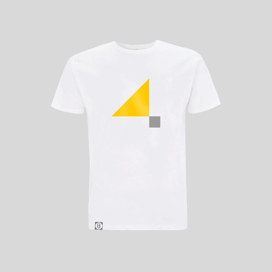 Buy Online John Digweed - 4 T-Shirt White