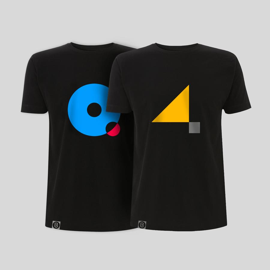 Buy Online John Digweed - Quattro Album T-Shirt + 4 T-Shirt