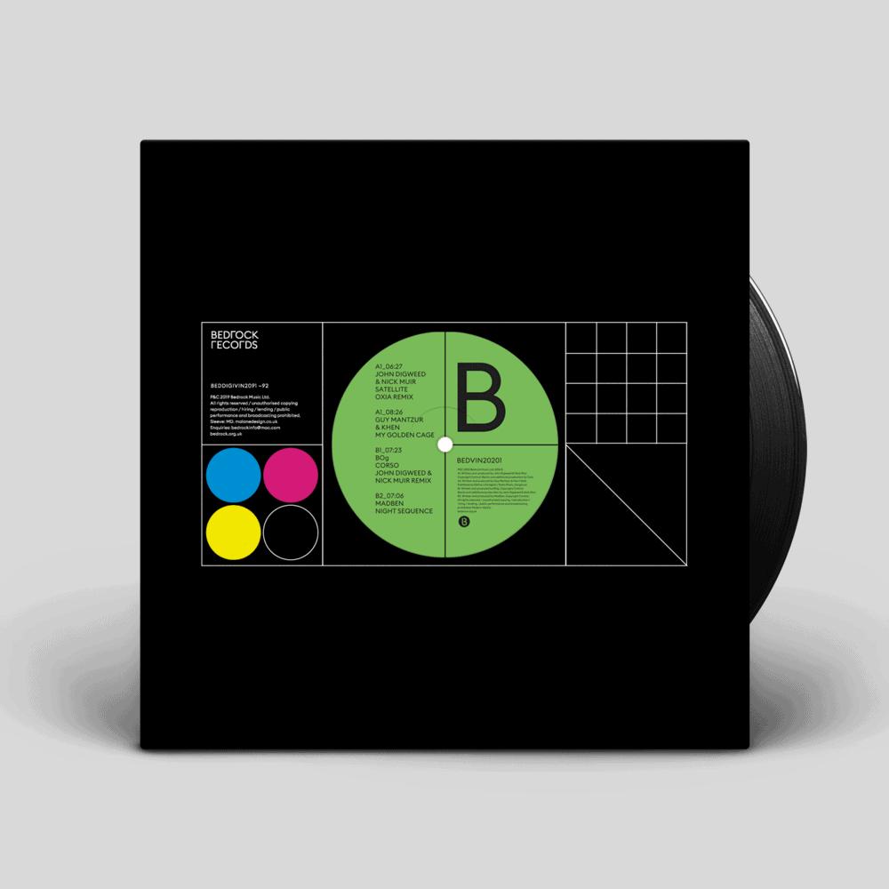 Buy Online Bedrock Music - John Digweed & Nick Muir - Satellite - Oxia remix