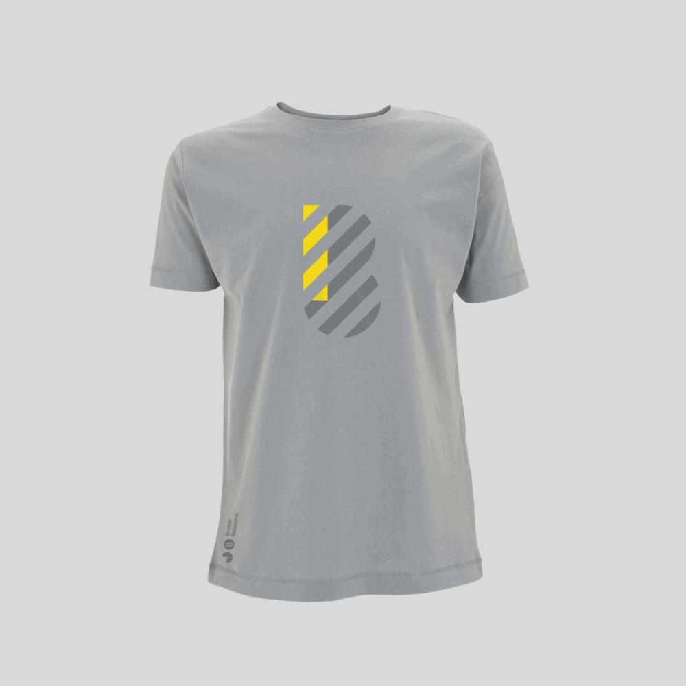 Buy Online Bedrock Music - Bunker Mens T-Shirt Light Grey