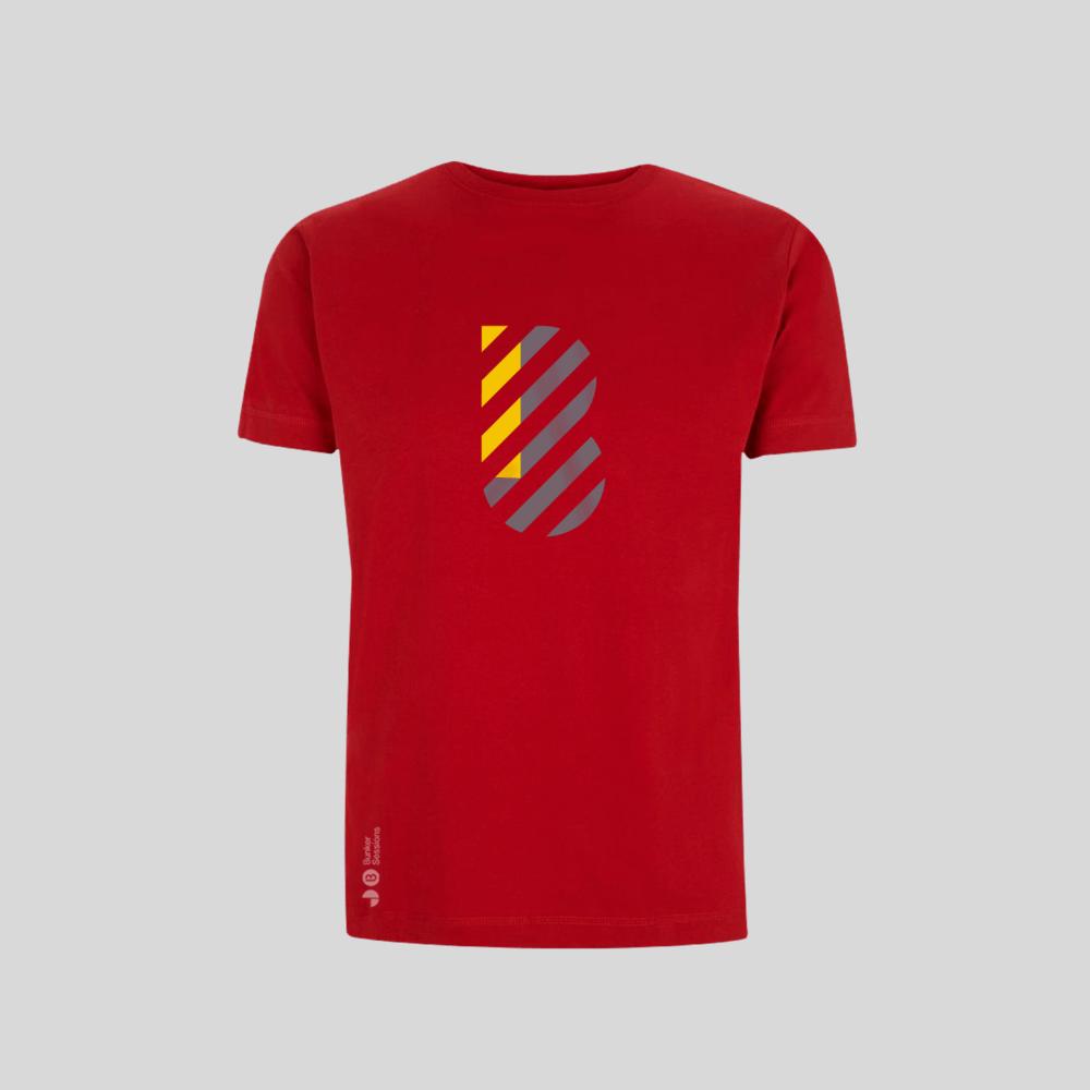Buy Online Bedrock Music - Bunker Mens T-Shirt Red