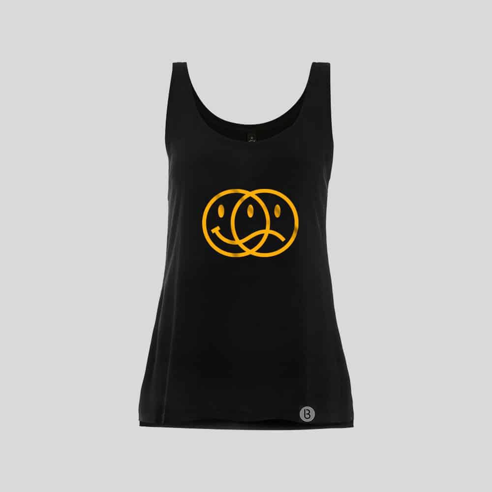 Buy Online Bedrock Music - Smiley 2020 Ladies Black Vest