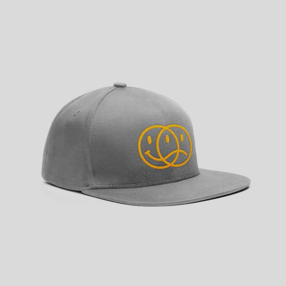 Buy Online Bedrock Music - Smiley 2020 Grey Cap