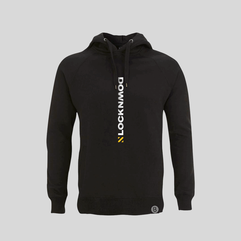 Buy Online Bedrock Music - Lockdown Black Hoody