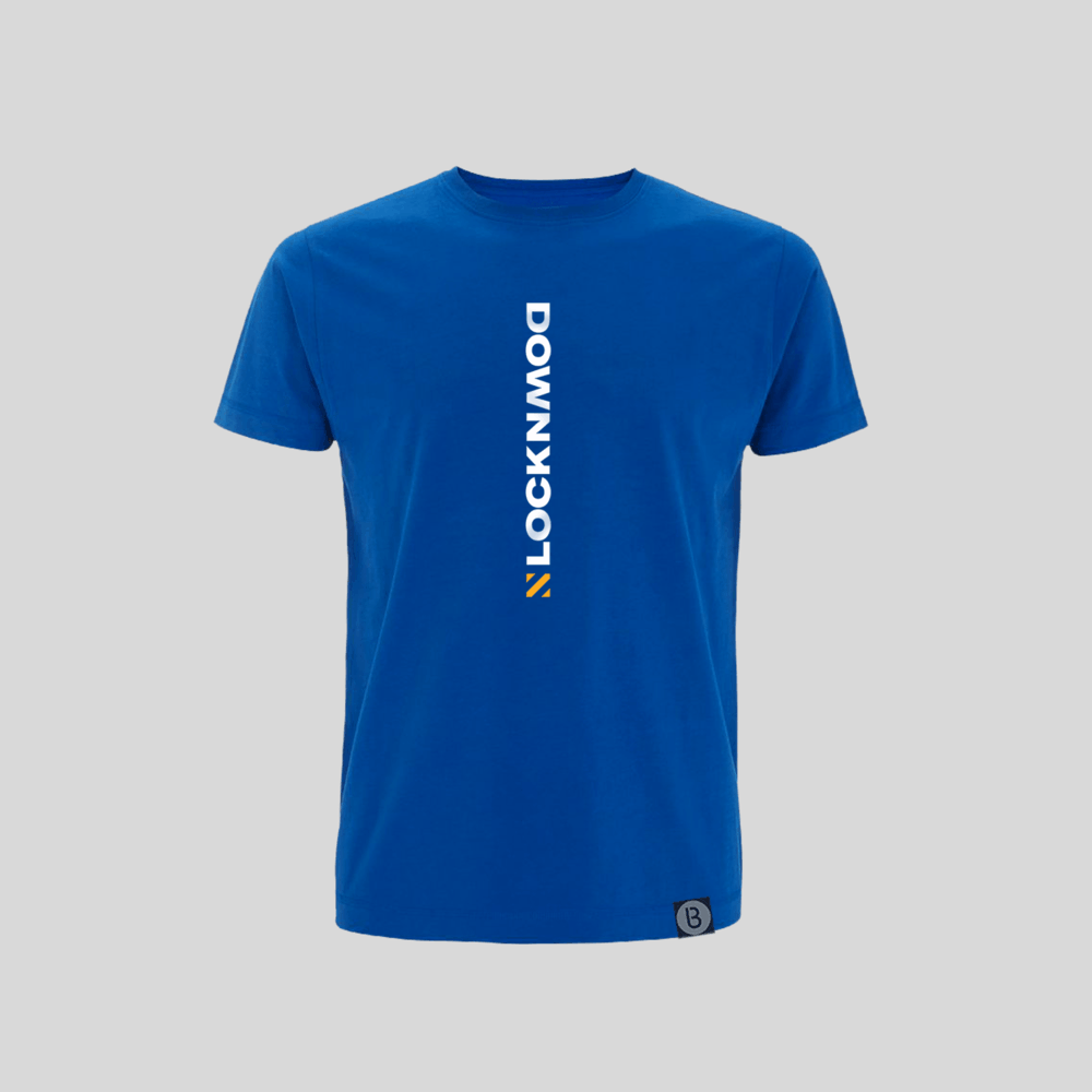 Buy Online Bedrock Music - Lockdown Royal Blue T-Shirt