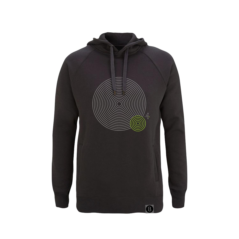 Buy Online Bedrock Music - Quattro II Grey Hoodie